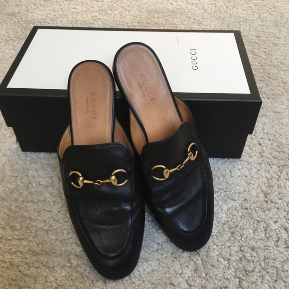 0aa1cf6234d Gucci Shoes - Authentic Gucci Princetown Loafer 36 black